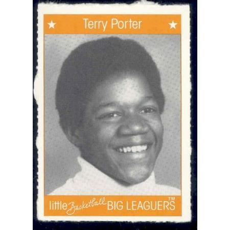 1991 Little Basketball Big Leaguers #28 Terry Porter Trail (Terry Baker)