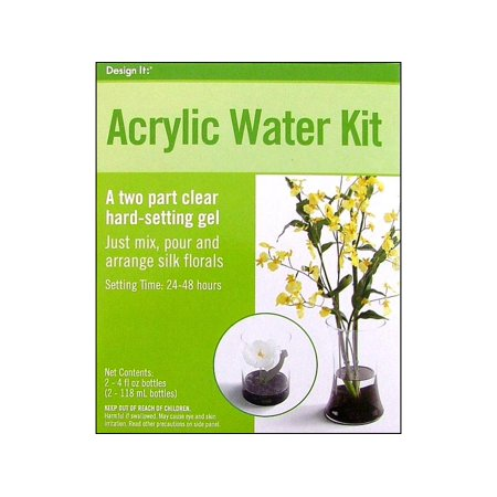 Floracraft Acrylic Water Kit 8oz Walmart