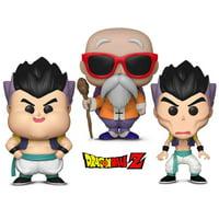 Warp Gadgets Bundle - Funko POP! Dragon Ball Z: Gotanks Failed Fusions 2 Pack and Master Roshi w/ Staff (2 Items)