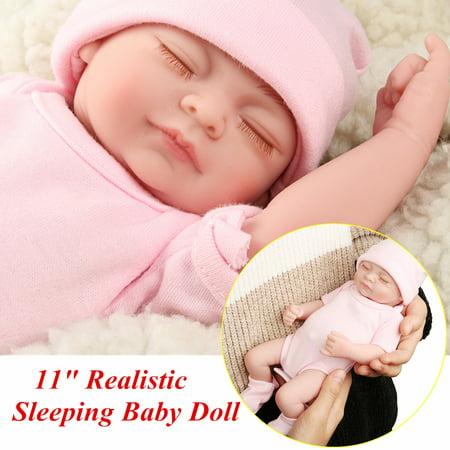 My Way 11 Cute Realistic Silicone Vinyl Sleeping Reborn