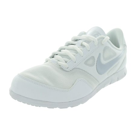Nike Women s Cheer Compete White White Pure Platinum 11 B - Medium ... 12a70a902