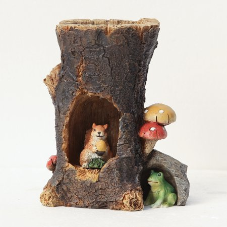 Woodland Faries (Solar Woodland Animals Miniature Fairy Garden)