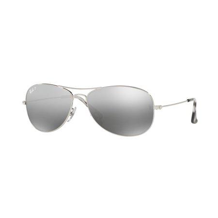 Ray-Ban Men's RB3562-003/5J-59 Silver Aviator Sunglasses