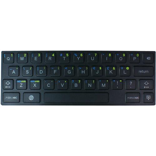 Hornettek OZONE KEYFLEXKeyboard for iPad, Black