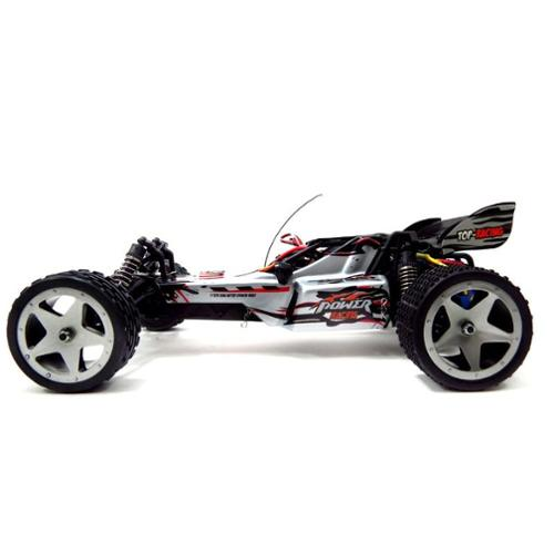 WL959 1:12 2.4G 2WD RC Cross Buggy Country Racing Car High Speed Radio Control RTR - White (Gift Idea) RC Car R/C Car Radio Controlled Car