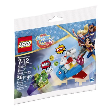 LEGO DC Super Hero Girls Krypto Saves the Day 30546 - Diy Lego