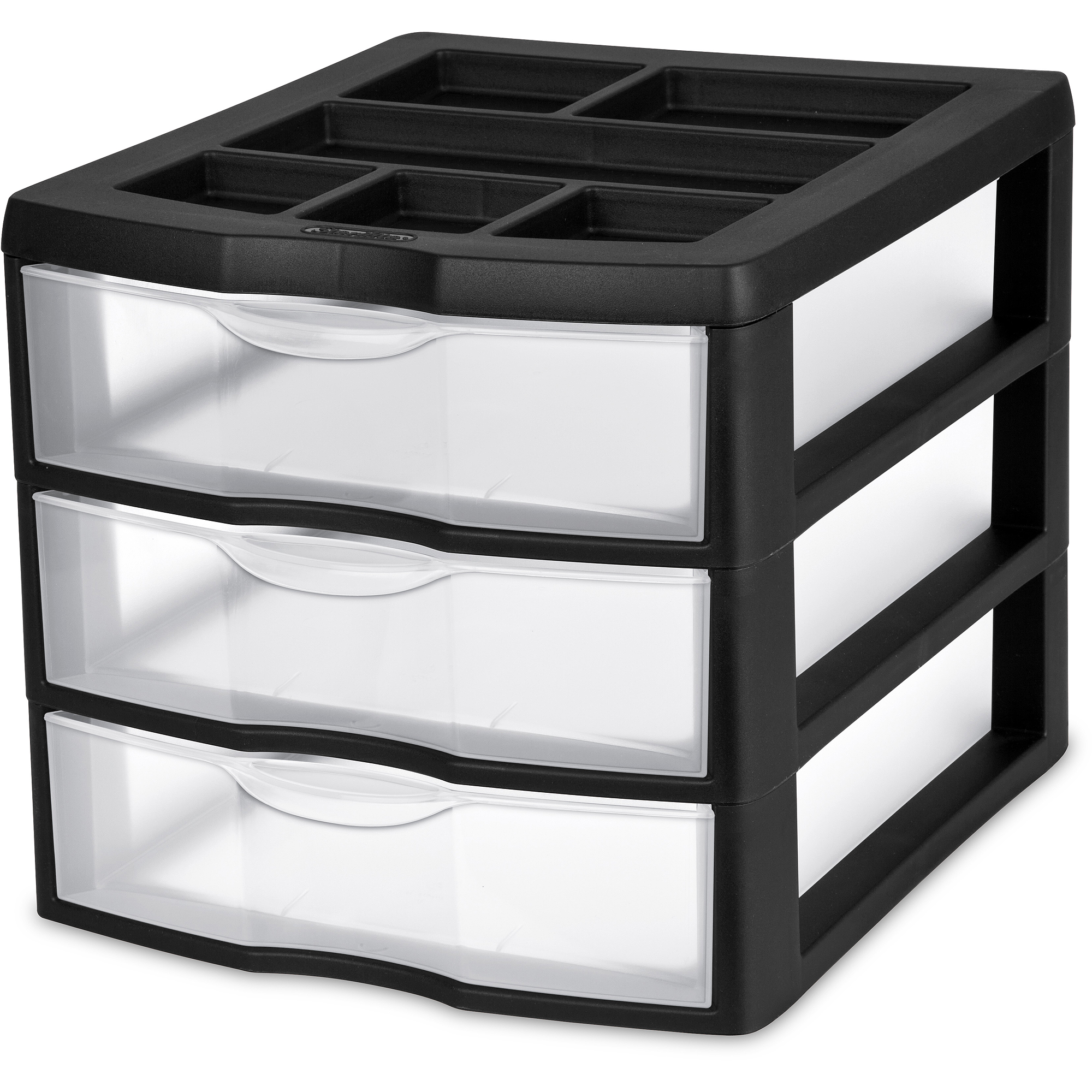 Sterilite 3-Drawer Desktop Unit