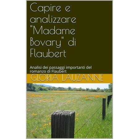 """Capire e analizzare """"Madame Bovary"""" di Gustave Flaubert - eBook"""