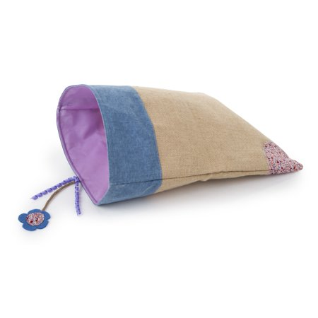 Petlinks Garden Flower Sack Crinkle Hideout Cat (Heated Thermo Crinkle Sack)