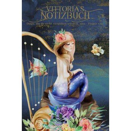 Vittoria's Notizbuch, Dinge, die du nicht verstehen w�rdest, also - Finger weg!: Personalisiertes Heft mit Meerjungfrau Paperback (Meerjungfrau Sonnenbrille)