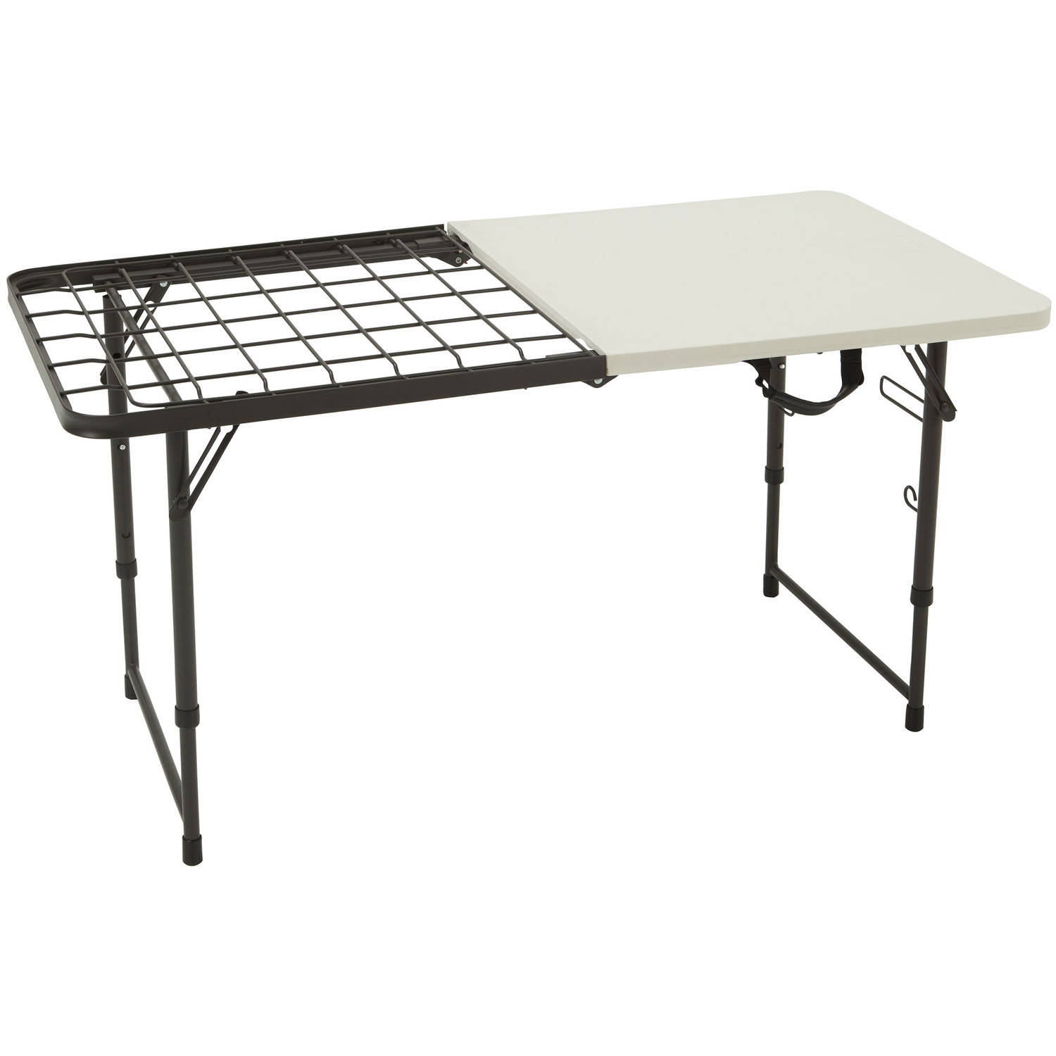 lifetime 4' fold-in-half cooking table - walmart
