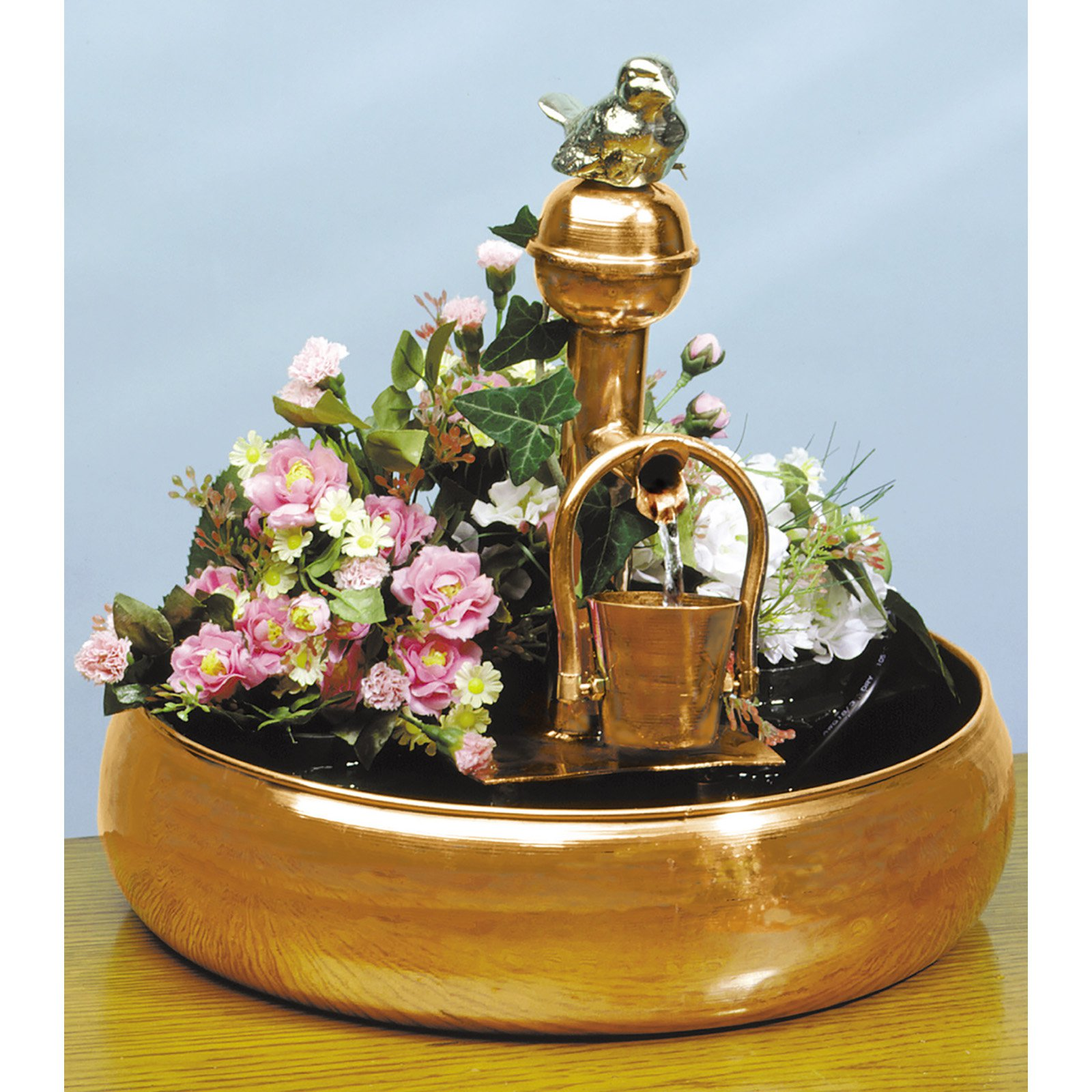 Pomegranate Solutions Copper Pouring Bucket Fountain