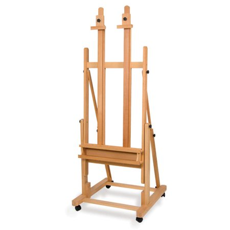 Canvas Holder - Creative Mark Saint Remy Multi-Angle Wood Studio Easel Multimedia Multi-Angle Wood Art Easel Two Independent Top Canvas Holders - [Sand Oiled Beech Wood]