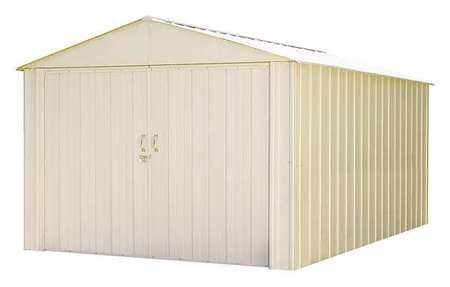 ARROW SHEDS CHD1015 Outdoor Storage Shed,148.6cu ft,Eggshell G2197721 by ARROW SHEDS