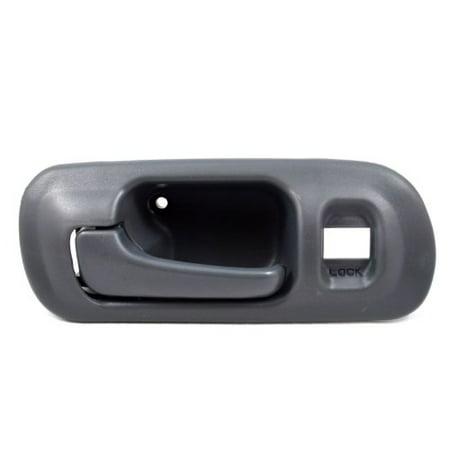 HO-2571G-FL - Inside Interior Inner Door Handle, Gray - with Lock Hole, 4-Door Sedan, Driver Side Front, Driver Side, Front By PT Auto Warehouse Drivers Side Lock Box