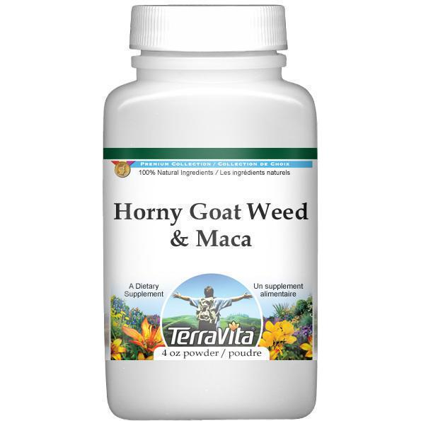 Horny Goat Weed and Maca Combination Powder (4 oz, ZIN: 513878)