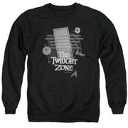 Twilight Zone Monologue Mens Crewneck Sweatshirt