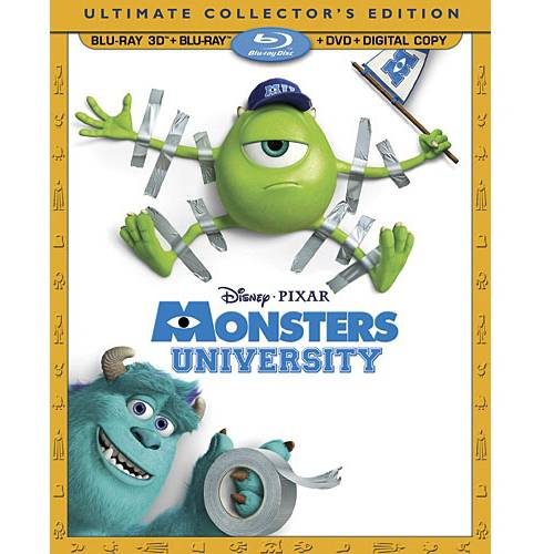 Monsters University (3D Blu-ray + Blu-ray + DVD + Digital Copy) (Widescreen)