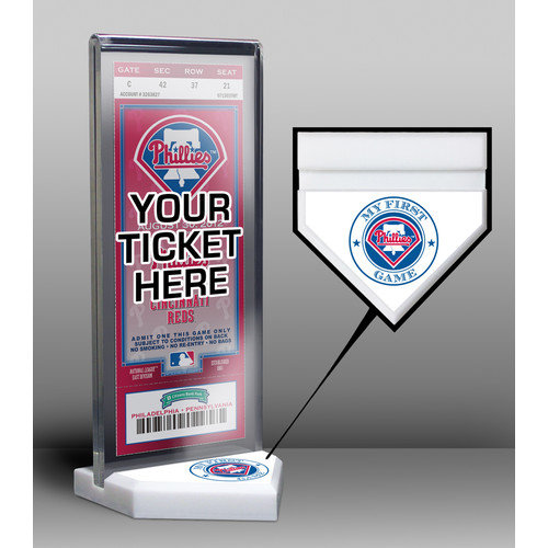 That's My Ticket My First Game Ticket Display Stand