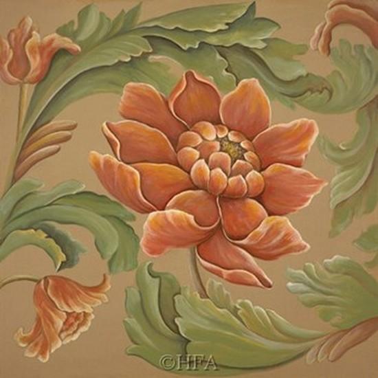 Baroque Flower I Poster Print by Elliot Parker (13 x 13)