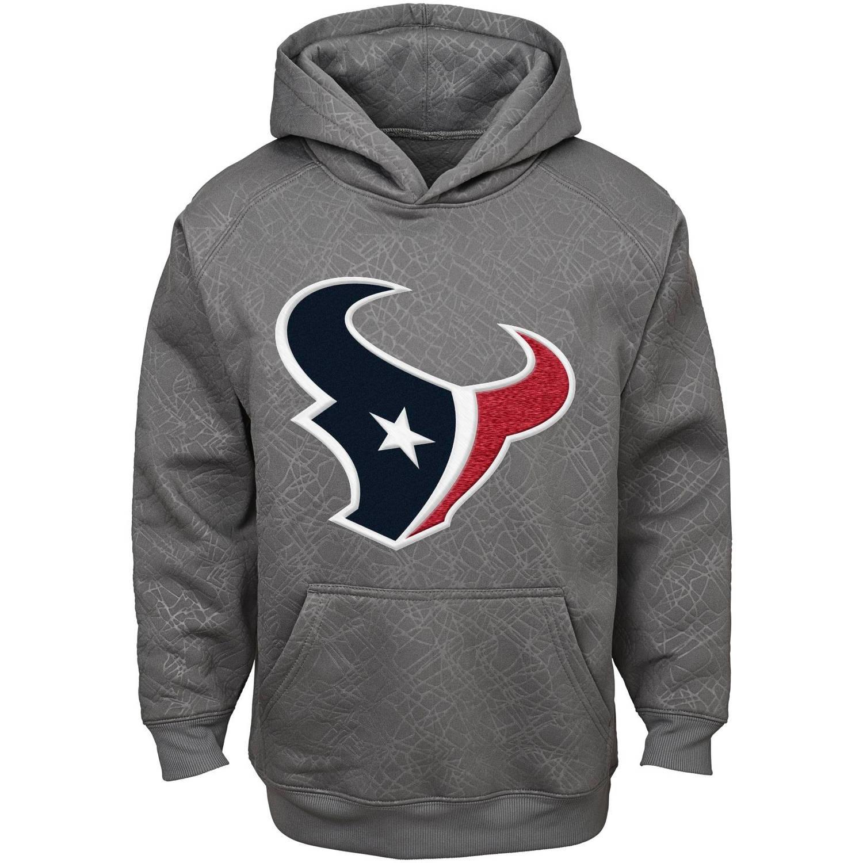 NFL Boys' Houston Texans SyntheticHooded Fleece Top