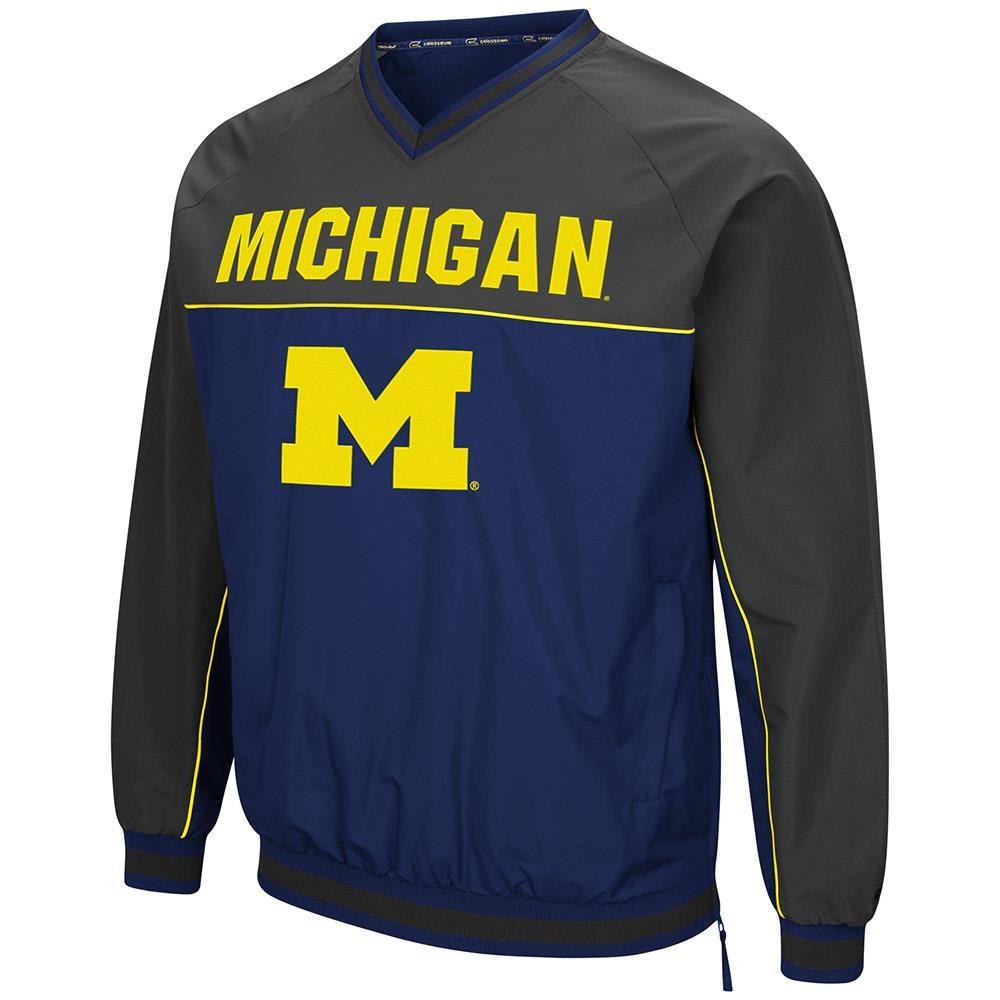 Mens Michigan Wolverines Windbreaker Jacket S by Colosseum