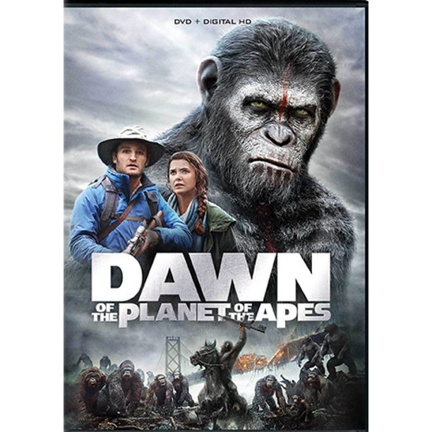 Dawn Of The Planet Of The Apes (DVD + Digital Copy ...