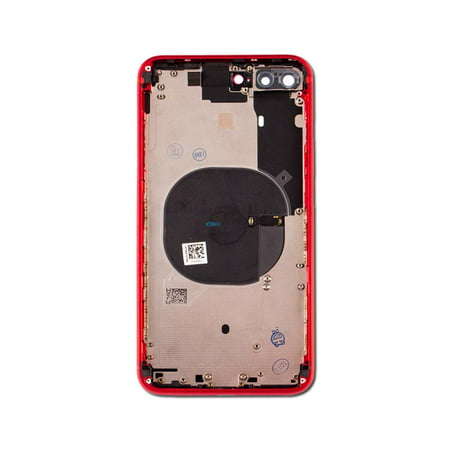outlet store b122b 69333 Back Glass Assembly with Midframe and Charging Coil for Apple iPhone 8 Plus  - Red