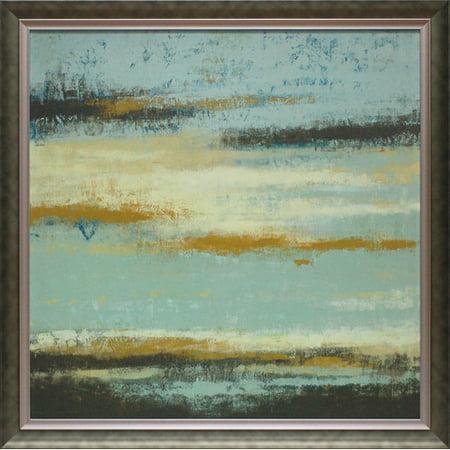 North American Art 'Ocean View' Framed Oil Painting -