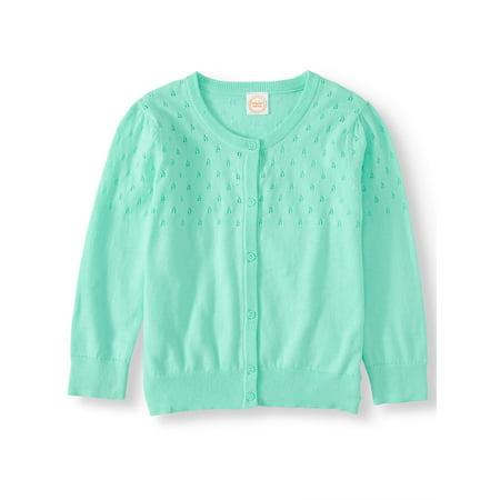 - Girls' Long Sleeve Cardigan (Little Girls, Big Girls, & Plus)