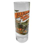Harley-Davidson Wisconsin Harley-Davidson Dealer Tall Shot Glass, Clear CSHOT, Harley Davidson