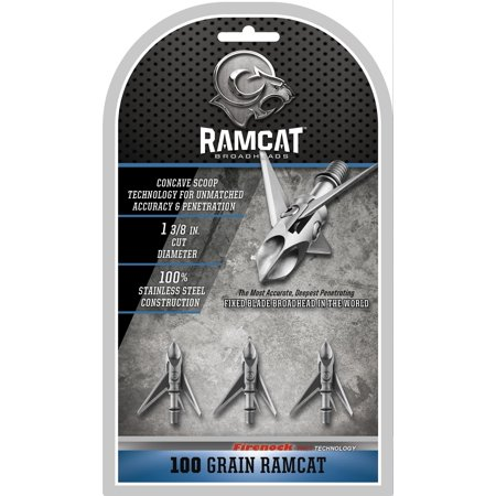 Ramcat Original 100 Grain Broadheads - 3 pack