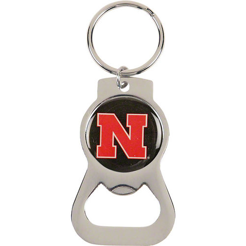 NCAA - Nebraska Cornhuskers Bottle Opener Keychain
