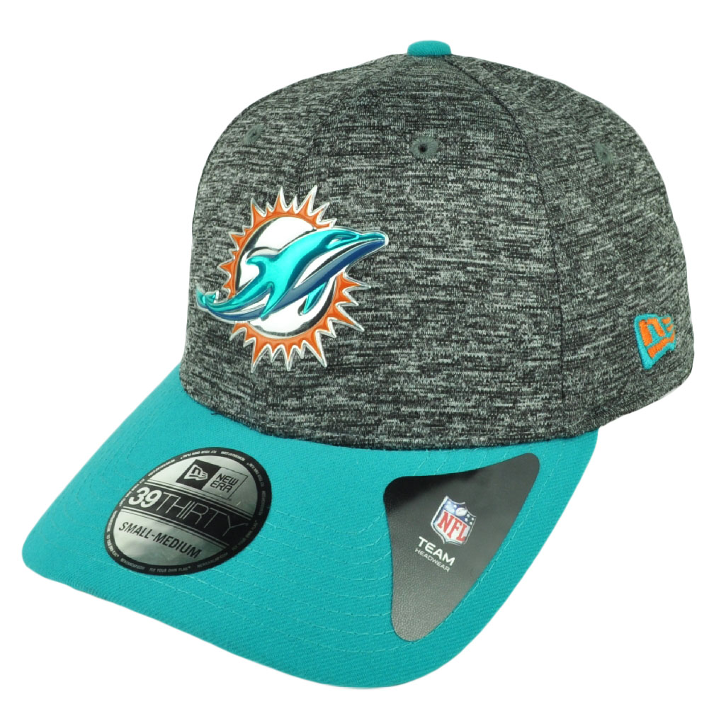 outlet store f5731 6a125 ... germany nfl new era 39thirty 2016 draft gray miami dolphins flex fit  small medium hat a5f4a ...
