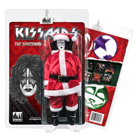 KISS 8 Inch Limited Edition Action Figure Christmas Series: The - Kiss Spaceman Makeup
