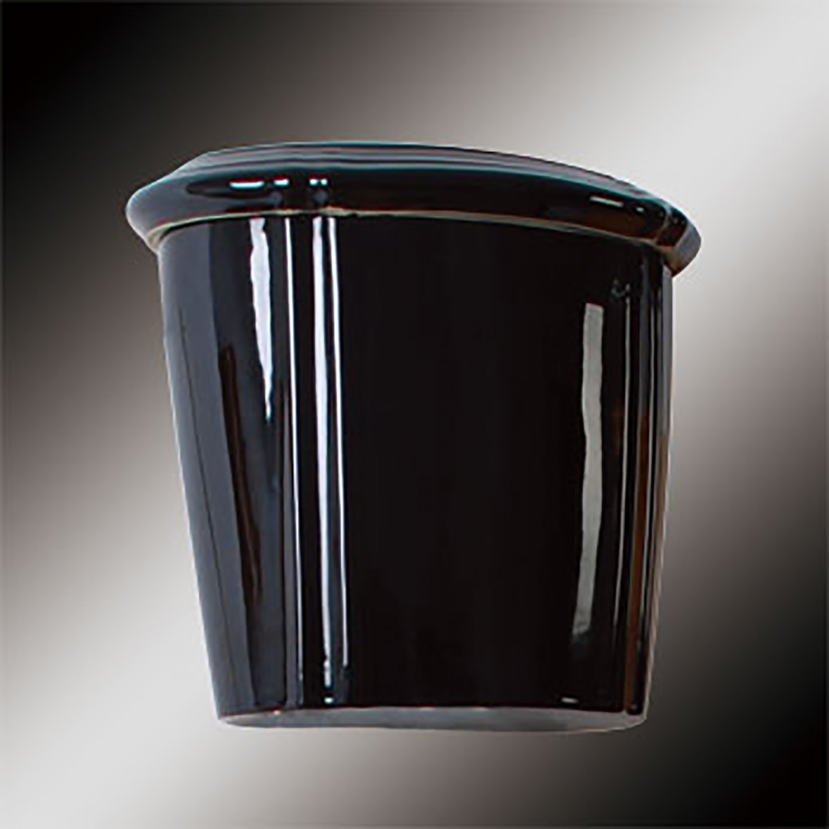 Toilet Part Black Vitreous Sheffield Tank Only | Renovator's Supply