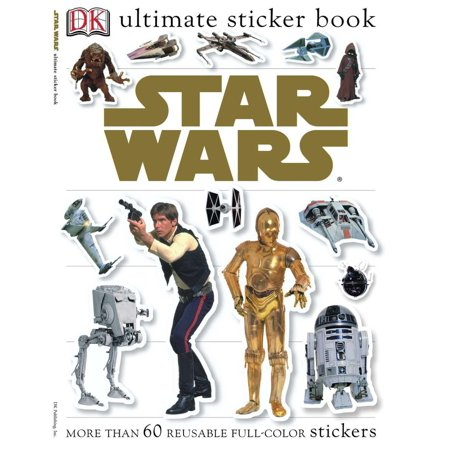 Ultimate Sticker Book: Star Wars : More Than 60 Reusable Full-Color Stickers (Jump Ultimate Stars)