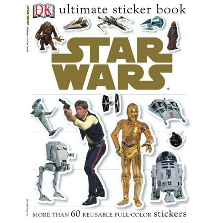 (Ultimate Sticker Book: Star Wars)