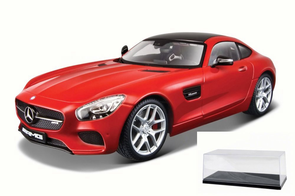 Diecast Car & Accessory Package Mercedes-Benz AMG GT, Red Maisto 38131R 1 18 Scale Diecast... by Maisto