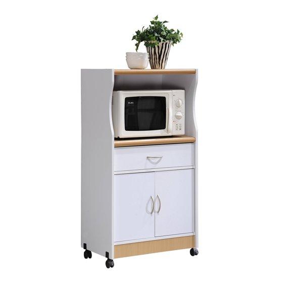 Kitchen Trolley Designs Colors: Hodedah Microwave Kitchen Cart, Multiple Colors