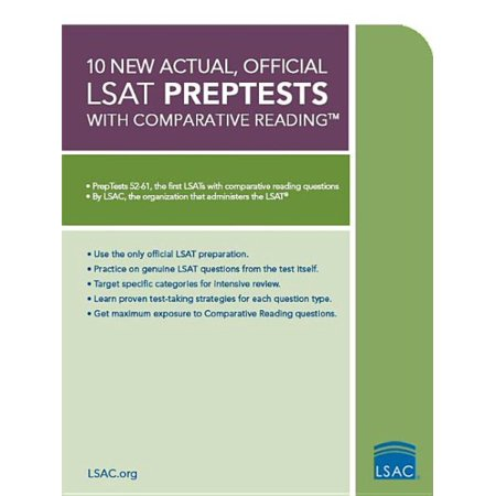 10 new actual official lsat preptests with comparative reading 10 new actual official lsat preptests with comparative reading malvernweather Images
