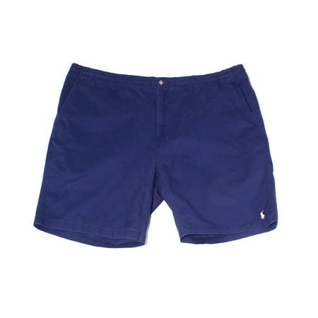 Ralph Lauren Mens Prepster Casual Chino Shorts navy 2LT - Big & (Ralph Lauren Navy Chino)