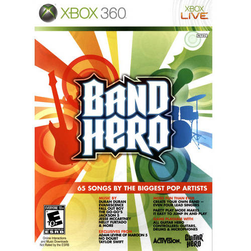Band Hero (Xbox 360) - Pre-Owned - Game Only