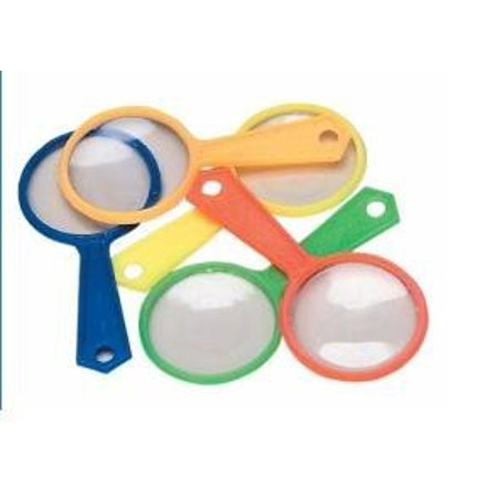 144 Pack Colorful Magnifying Glasses, Party Favors, Gross Wholesale