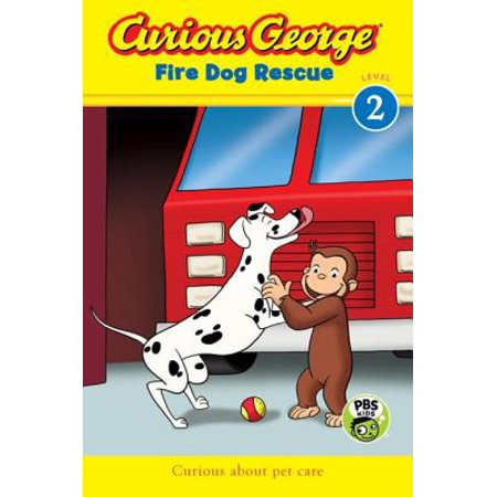 Curious George Fire Dog Rescue (CGTV Reader) -