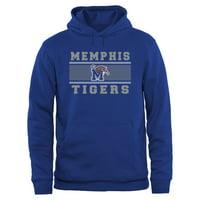 Memphis Tigers Big & Tall Micro Mesh Sweatshirt - Royal