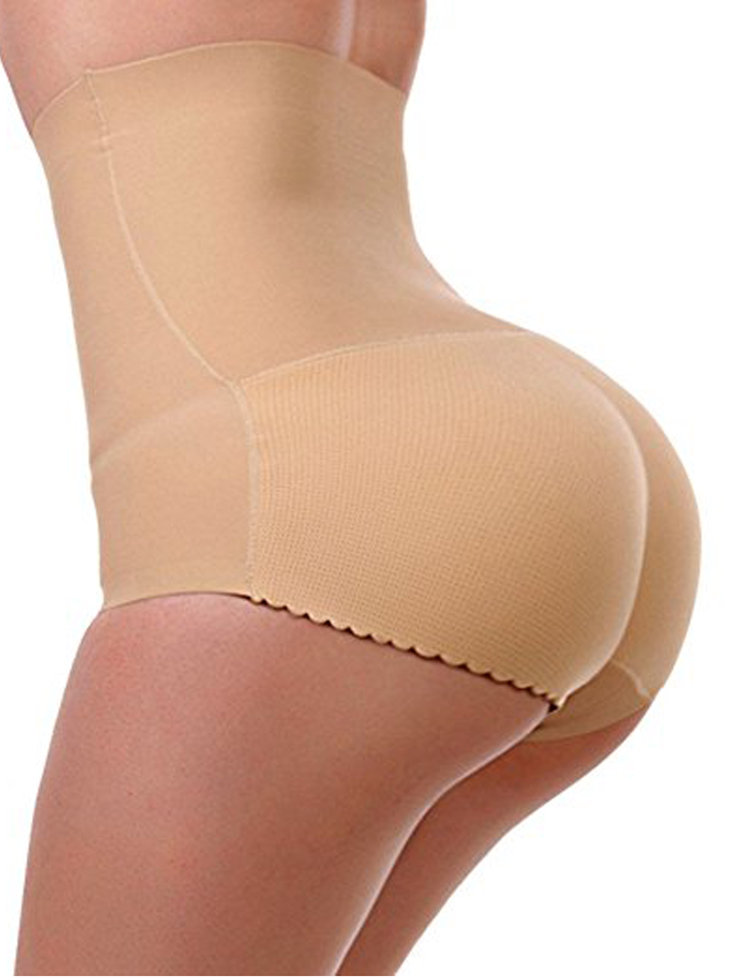 Ladies Womens Ultra-Thin Seamless High Waist Body Shaping Panty Control Knickers