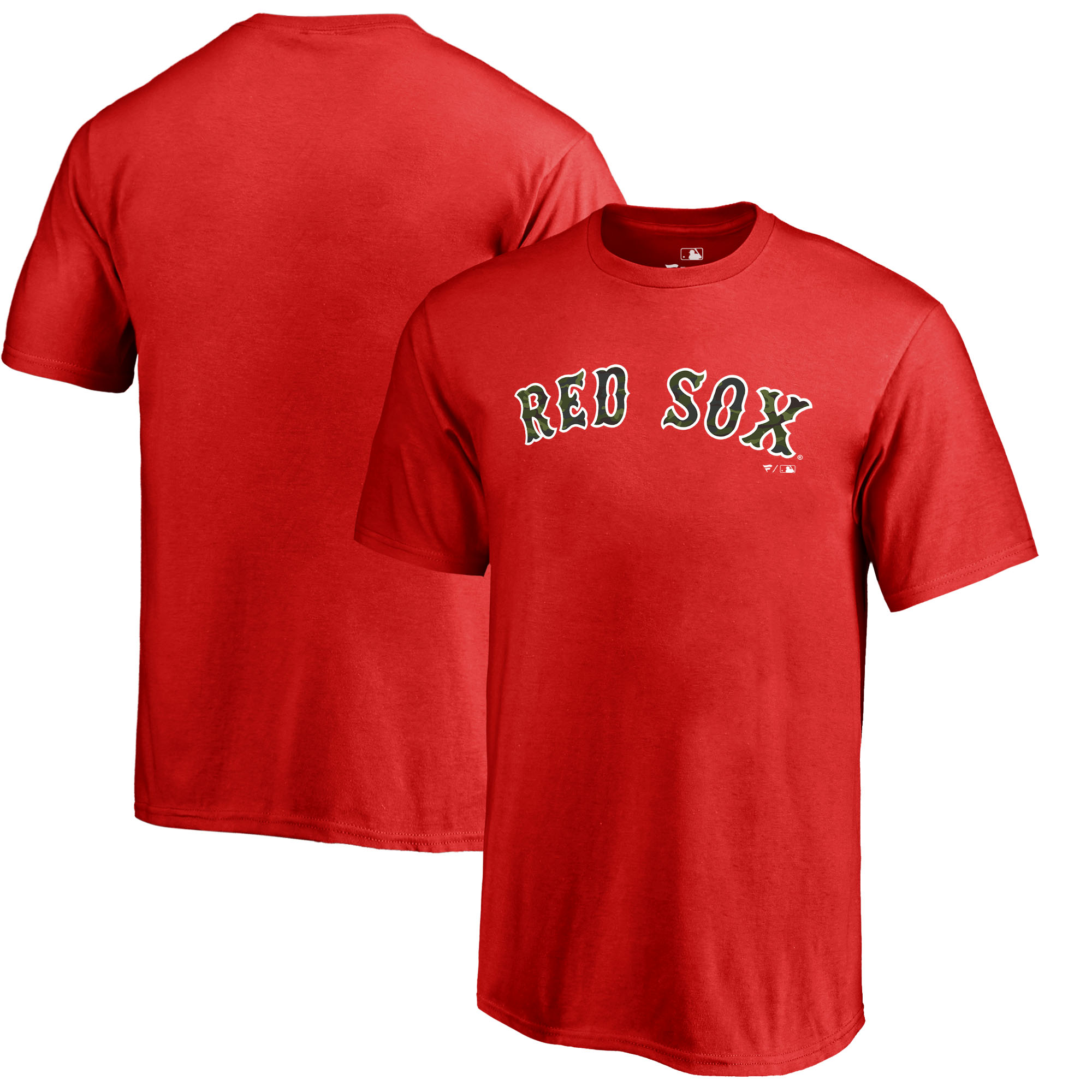 Boston Red Sox Fanatics Branded Youth Memorial Wordmark T-Shirt - Red