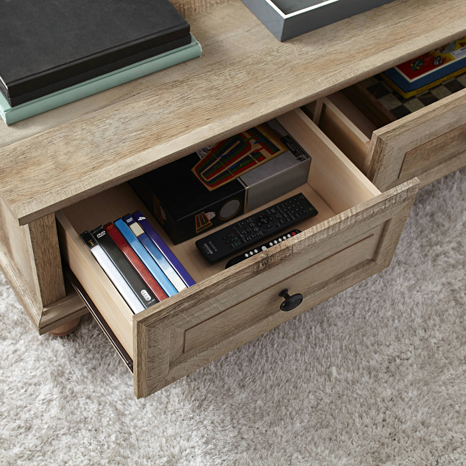Better Homes and Gardens Crossmill Coffee Table Rustic ...