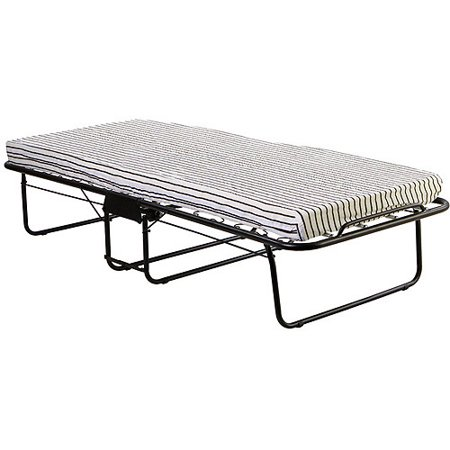 Dream On Me Foldable Rollaway Guest Bed Finish White